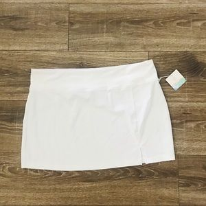 Balance collection swimsuit coverup XL white beac